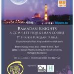 Ramadan Knights Melbourne 2011