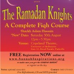 Ramadaan Knights – A Complete Iman and Fiqh Course, 2009